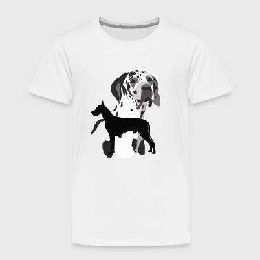 Great Danes - Toddler Premium T-Shirt