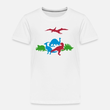 Ancient Ancient Dinosaurs - Toddler Premium T-Shirt