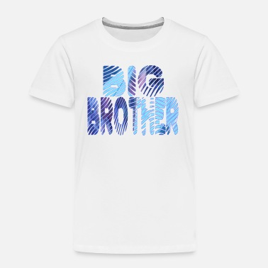 Brother wordtease collage BIG BROTHER bluz - Toddler Premium T-Shirt