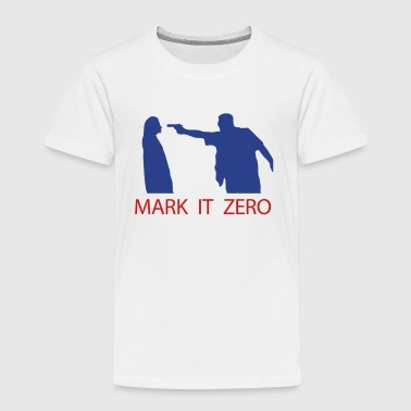 Big Lebowski Lebowski Mark it Zero - Toddler Premium T-Shirt