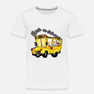 School Back To School - Toddler Premium T-Shirt