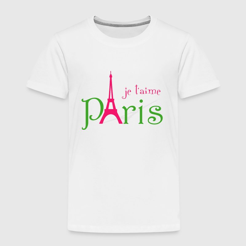 I love Paris - Toddler Premium T-Shirt