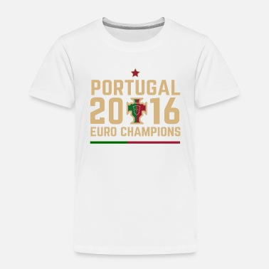 Cr7 Portugal Euro Champions 2 - Toddler Premium T-Shirt