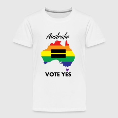 Vote Yes-australia Marriage Equality VOTE YES AUSTRALIA EQUALITY - Toddler Premium T-Shirt
