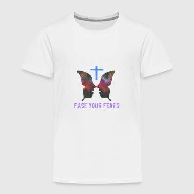 Jesus Freak Face your fears - Toddler Premium T-Shirt