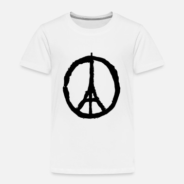 Je Suis Paris PRAY FOR PARIS - Toddler Premium T-Shirt