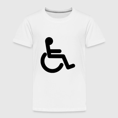 Handicapped - Wheelchair - Toddler Premium T-Shirt