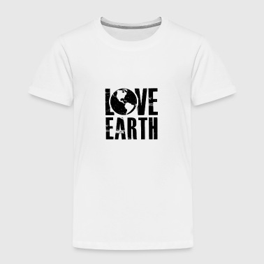 Love Earth - Mother Nature - Total Basics - Toddler Premium T-Shirt