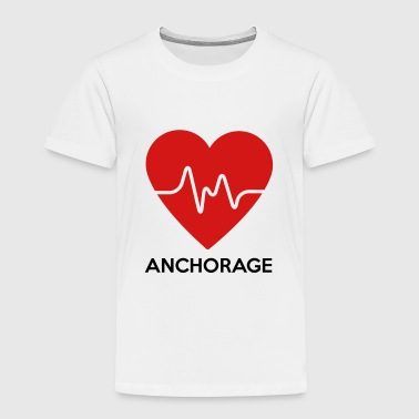 Heart Anchorage - Toddler Premium T-Shirt