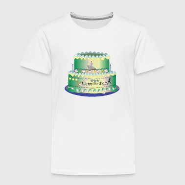 Birthday Cake - Toddler Premium T-Shirt