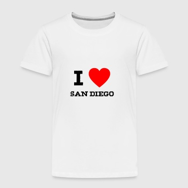 San i love San Diego - Toddler Premium T-Shirt