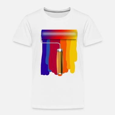Painting Paint Roller - Toddler Premium T-Shirt