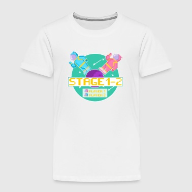 Pixel Folk - Toddler Premium T-Shirt