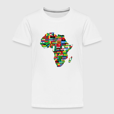 The Flags of Africa - Toddler Premium T-Shirt