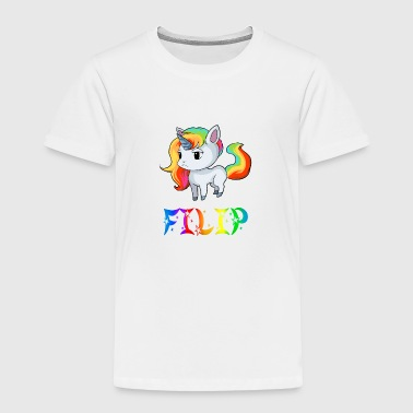 Filip Unicorn - Toddler Premium T-Shirt