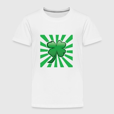 Psychedelic Four Leaf Clover - Toddler Premium T-Shirt