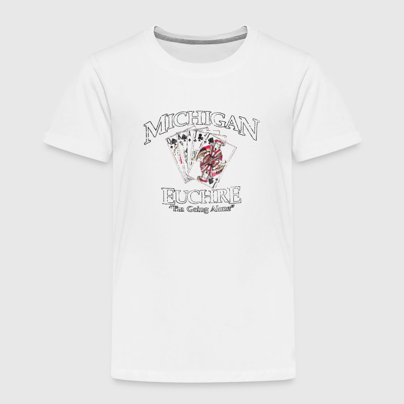 Michigan Euchre Cards - Toddler Premium T-Shirt