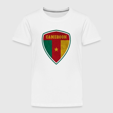 Cameroon Cameroon Coat of Arms Vintage / Gift Camerun - Toddler Premium T-Shirt
