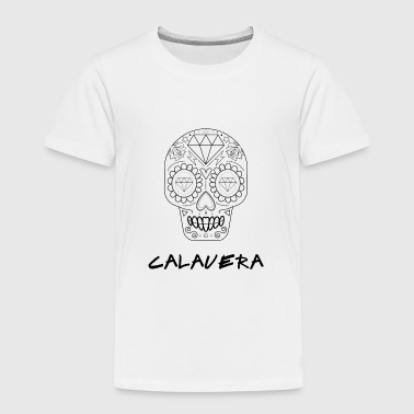 Calavera black - Toddler Premium T-Shirt
