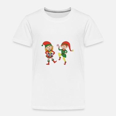 Cool Funny Cool Cute Christmas Elf Elves Xmas Gifts - Toddler Premium T-Shirt