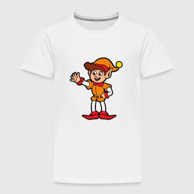 Christmas Xmas Elf Elves - Toddler Premium T-Shirt