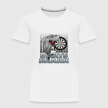 Darts Darts Shark - Toddler Premium T-Shirt