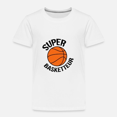 Basket Basketball Basket ball Basket-Ball Game Sport - Toddler Premium T-Shirt