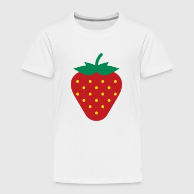 Strawberry / Fraise / Fresa / Erdbeere - Toddler Premium T-Shirt