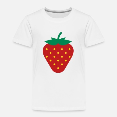 Strawberry Strawberry / Fraise / Fresa / Erdbeere - Toddler Premium T-Shirt