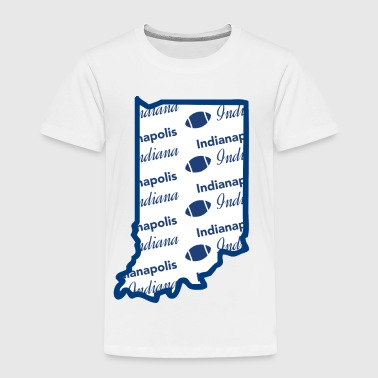 Indianapolis Indiana Football Fan - Toddler Premium T-Shirt