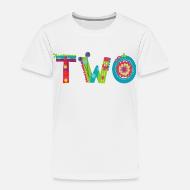 2nd Birthday Blooming 2nd Birthday - Toddler Premium T-Shirt