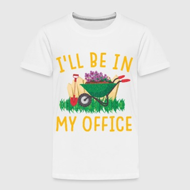 Flora Garden Gerdening Work Office Love Plants - Toddler Premium T-Shirt