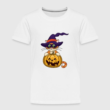 Pumpkin Halloween Monster Zombie Horror - Toddler Premium T-Shirt