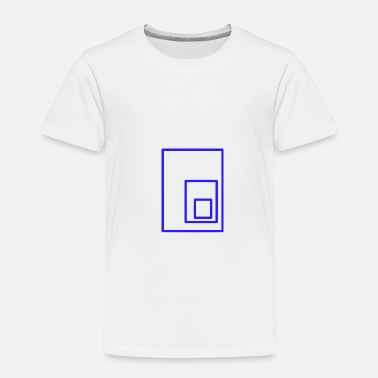 Rectangle blue rectangles - Toddler Premium T-Shirt