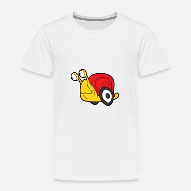 Bug Funny Cool Cute Snail Shell - Toddler Premium T-Shirt