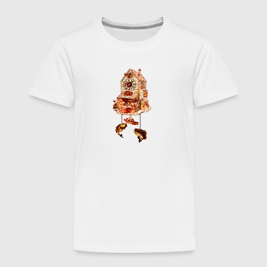 Fishing Lodge Cuckoo Clock - Toddler Premium T-Shirt