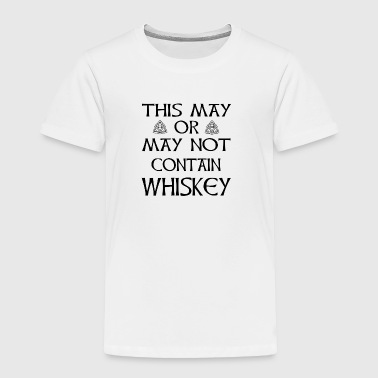 Funny Whiskey Irish Joke - Toddler Premium T-Shirt
