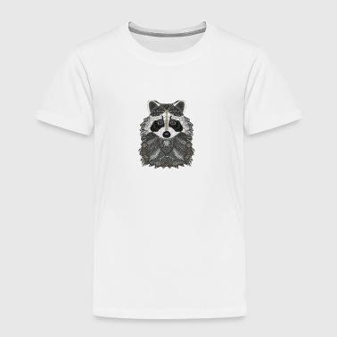 Ornate Raccoon - Toddler Premium T-Shirt
