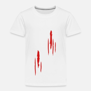 Scratch Scratches, Scars - Toddler Premium T-Shirt