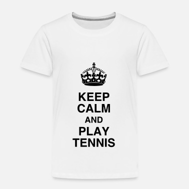Fun Tennis Tennisman Sport Ball Match Fun - Toddler Premium T-Shirt