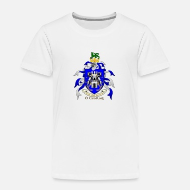 Crest Kelly Family Crest Shield - Toddler Premium T-Shirt