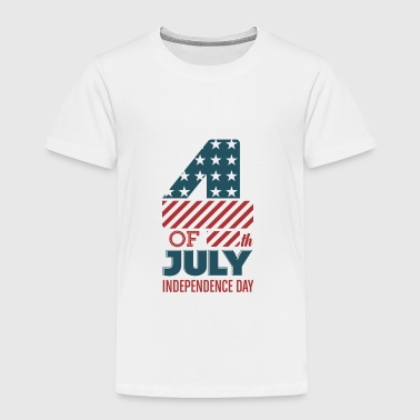 USA - July 4th - Independence Day - Toddler Premium T-Shirt