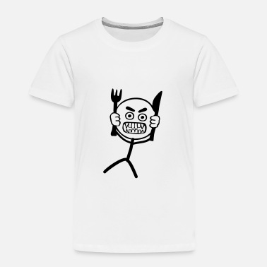Stickman Hangry Stickman - Toddler Premium T-Shirt