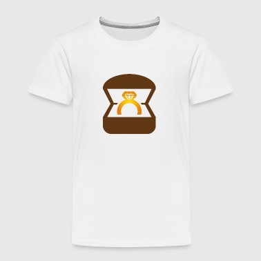 An Engagement Ring / Wedding Ring - Toddler Premium T-Shirt