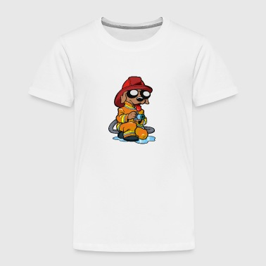 firefighter - Toddler Premium T-Shirt