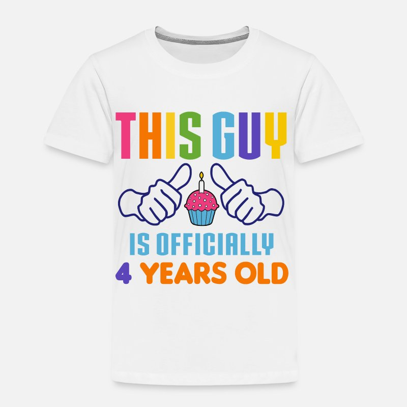 4 Years Old Birthday Baby Clothing