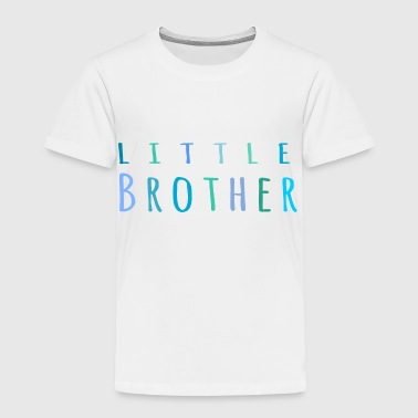 Little Brother in blue - Toddler Premium T-Shirt