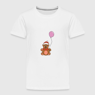 Merry Funny Cute Cool Teddy Bear Christmas Xmas - Toddler Premium T-Shirt