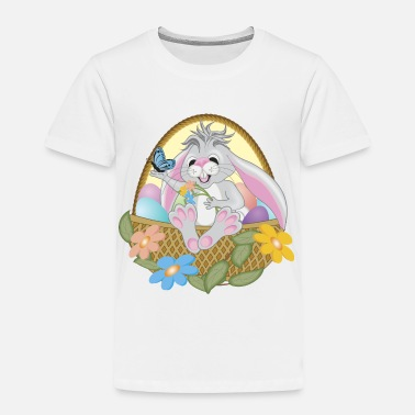 Easter Cute Easter Bunny - Toddler Premium T-Shirt