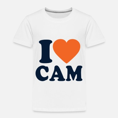 Cameron I Love Cam - Toddler Premium T-Shirt